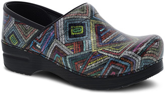 Dansko Women's Clogs Color - Color Maze Patent Professional Leather Clog - Women