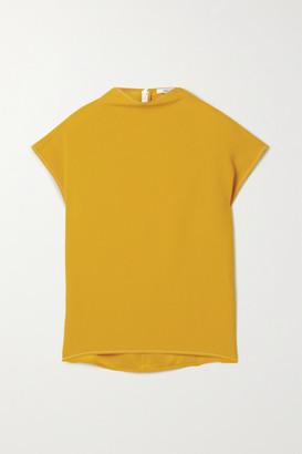 GAUCHERE Rika Crepe Top - Mustard