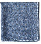 Brunello Cucinelli Multi Dot-print Silk Pocket Square