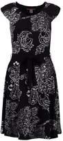 Anna Field Jersey dress white/black