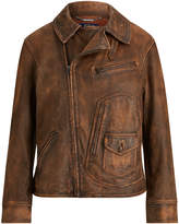 Polo Ralph Lauren Ralph Lauren Distressed Leather Jacket