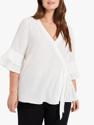 Studio 8 Wilfred Flared Sleeve Blouse, Ivory