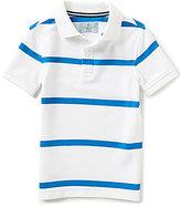 Class Club Little Boys 2T-7 Short-Sleeve Stripe Polo Shirt