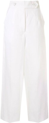 Bambah High-Waisted Wide Leg Trousers