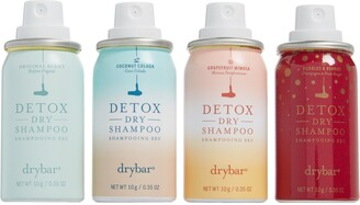 Drybar 4 Shots of Detox Set