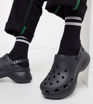 Crocs bae platform clogs in black exclusive to ASOS