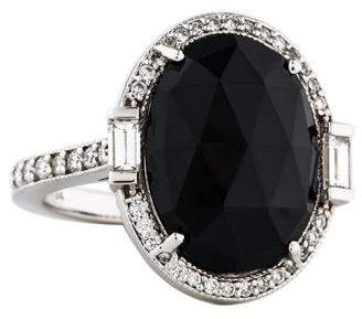 Penny Preville 18K Spinel & Diamond Cocktail Ring