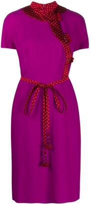 2000's Pre-Owned Tie Waist Dress