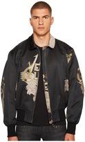 Versace Jacquard Jacket Men's Coat