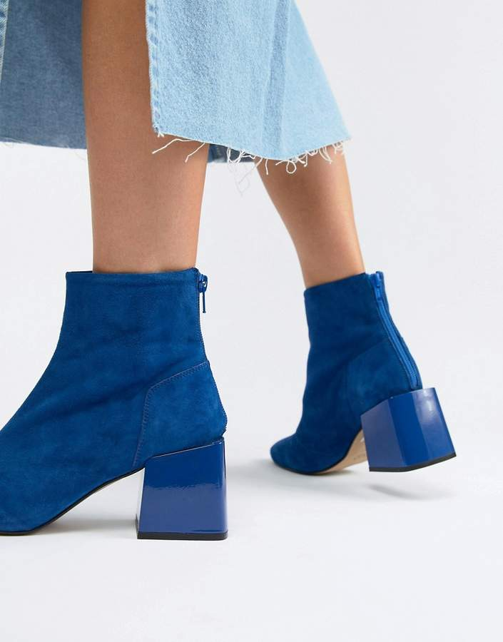Asos Design DESIGN Rome leather ankle boots