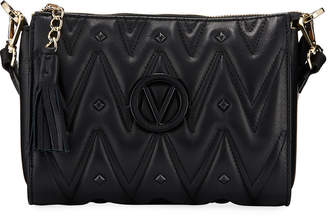 Mario Valentino Valentino By Marlene D Sauvage Quilted Leather Shoulder Bag