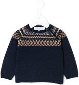 Tartine et Chocolat intarsia knit jumper
