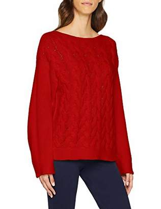Benetton Women's Sweater L/s Jumper,One (Size: Medium)
