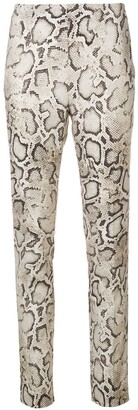 Pinko Snake Print Leggings