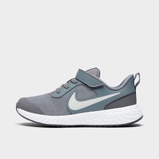 Nike Boys' Little Kids' Revolution 5 Hook-and-Loop Running Shoes
