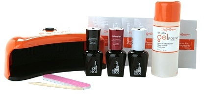 Sally Hansen Salon Gel Starter Kit Red My Lips