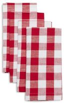 Sur La Table BBQ Check Napkins, Set of 4