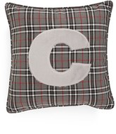 Levtex Plaid Initial Accent Pillow