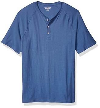 Amazon Essentials Slim-Fit Short-Sleeve Slub Henley T-ShirtXS