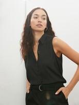 Banana Republic Sleeveless Button-Down Shirt – in All Sizes