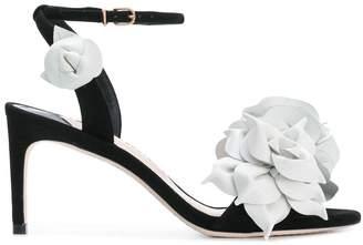 Sophia Webster flower appliqué sandals