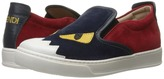 Fendi Slip-On Monster Sneakers Boys Shoes