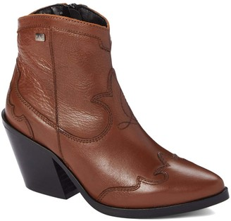 Musse & Cloud Women's Casual boots CAM - Camel Brinda Leather Boot - Women