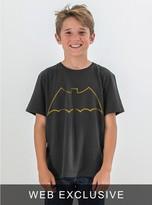 Junk Food Clothing Kids Boys Batman Tee-black Wash-l
