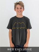 Junk Food Clothing Kids Boys Batman Tee-black Wash-m