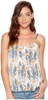 Kensie Leafy Vines Top KS7U4S00 Women's Clothing