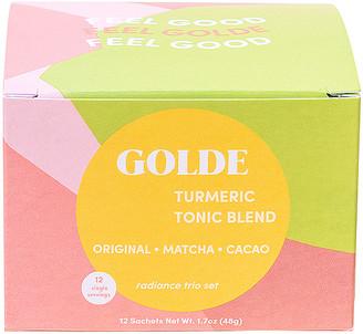 Golde GOLDE Radiance Tonic Blends Sachet Trio Set