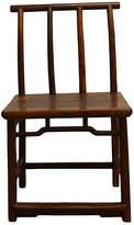 One Kings Lane Vintage Antique Elm Wood Side Chair