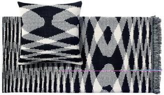 Missoni Home Sigmund Throw Blanket, Black and White