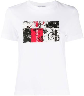 Calvin Klein Jeans graphic print cotton T-shirt