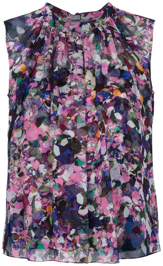 Erdem 'Tullulah' pleated blouse