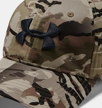 Under Armour Men's UA Camo Stretch Fit Cap Updated