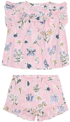 Il Gufo Baby cotton dress and bloomers set