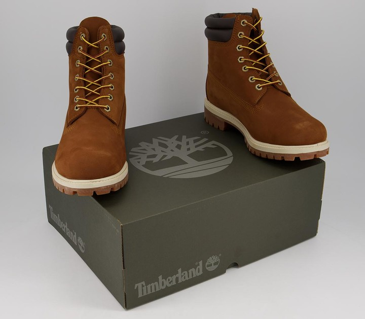 Thumbnail for your product : Timberland 6 Inch Double Collar Boots Medium Brown