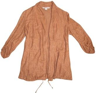 Diane von Furstenberg Metallic Silk Jackets