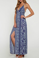 Love Stitch Lovestitch Crisscross Maxi Dress