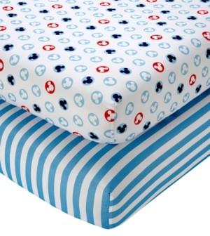 Disney Mickey Mouse Crib Sheet 2-Pack Bedding