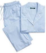 Ralph Lauren Gingham Capri Pajama Set
