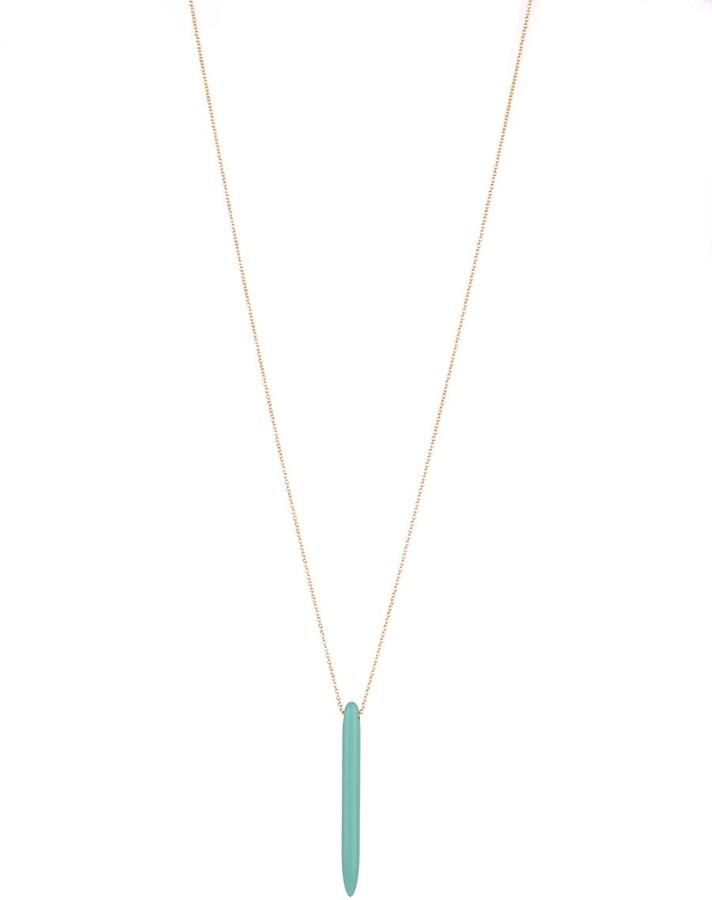 Soixante Neuf Single Spike Necklace