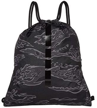 Nike Hoops Elite Gymsack 2.0 - All Over Print (Black/Anthracite/Black) Backpack Bags