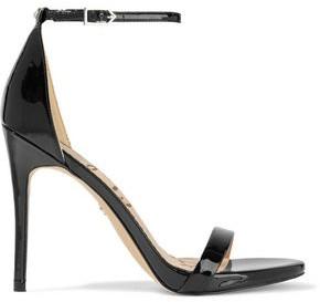 Sam Edelman Ariella Faux Patent-leather Sandals