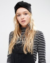 Asos Rib Turban Hat