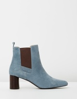 Maddie Leather Ankle Boots