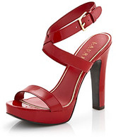 """Thumbnail for your product : Lauren Ralph Lauren Faythe"""" Open-toe Dress Heel"""