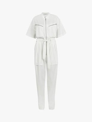 AllSaints Vola Short Sleeved Boiler Jumpsuit
