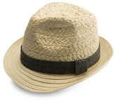 Collection 18 Textured Beach Fedora Hat